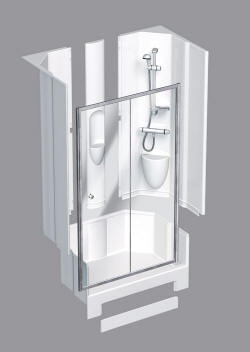 Coram shower pods - guaranteed leak free for life