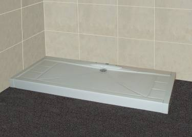 disabled access showers. low level shower tray with above ground waste outlet - the mendip disabled access showers y