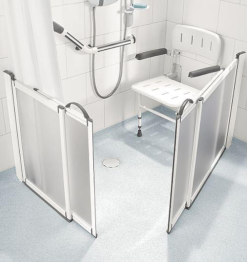Supreme Half Height Sliding Pivot Care Shower Doors