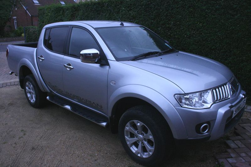 mitsubishi l200 barbarian pick up for sale 2010 in hampshire. Black Bedroom Furniture Sets. Home Design Ideas