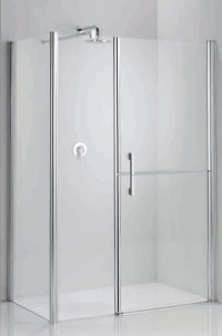 Glass Shower Enclosure With Stable Door