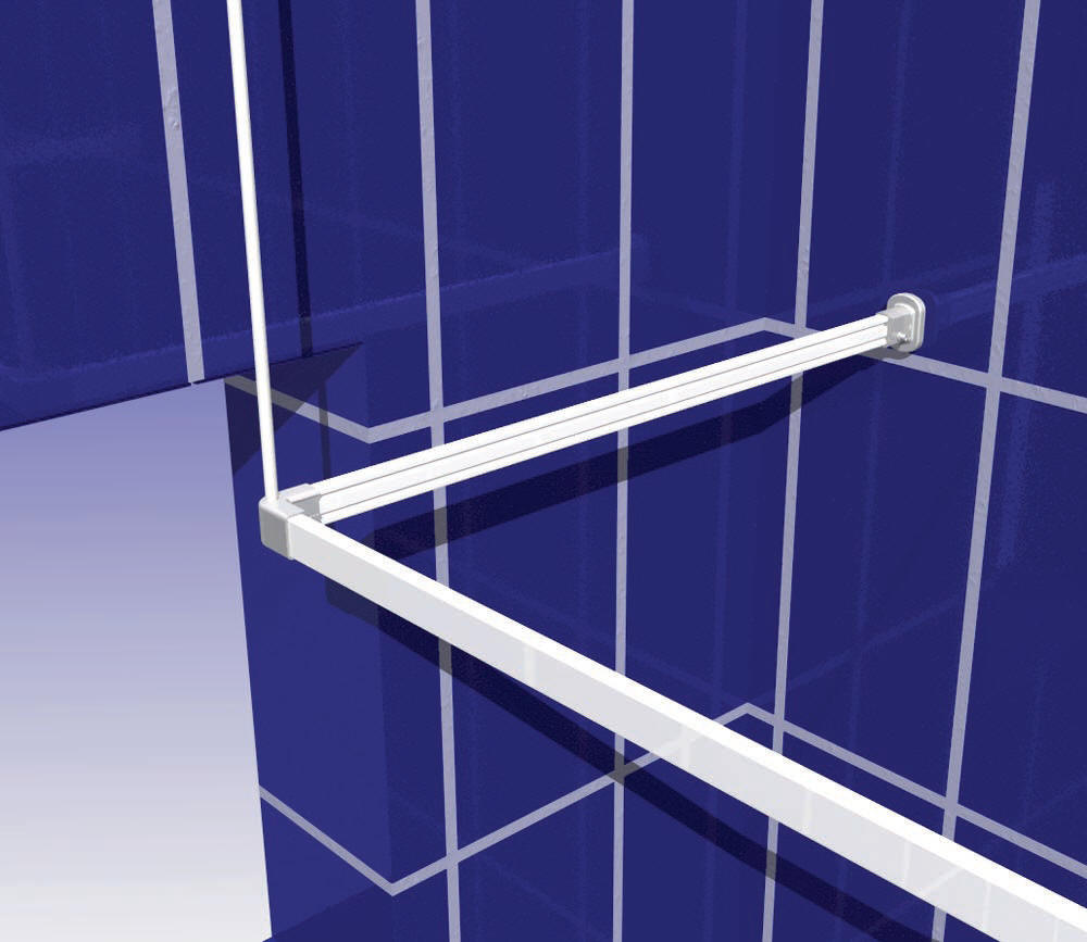 Shower Rods | Shower Rails | Shower Curtain Rails
