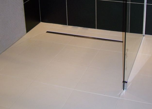 aqua dec linear 4 wet room floor former with linear. Black Bedroom Furniture Sets. Home Design Ideas