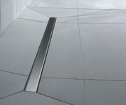 Linear Flo dec wet room shower floor