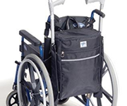 Bags and carrying accessories for invalid scooters and wheelchairs