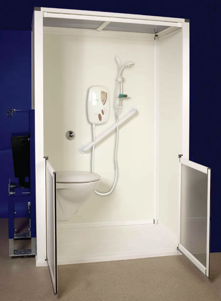 Shower Toilet Cubicle The Snowdon All In One Shower